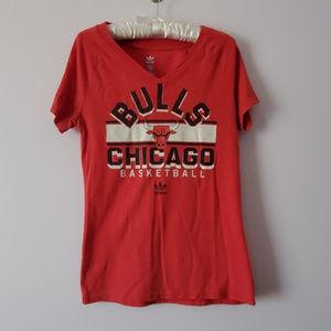 Chicago Bulls Basketball Adidas Large Shirt